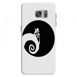 nightmare before christmas black logo Samsung Galaxy S7 | Artistshot