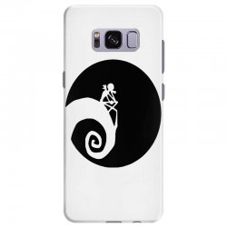 nightmare before christmas black logo Samsung Galaxy S8 Plus | Artistshot