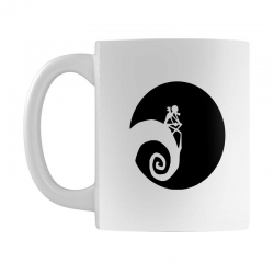 nightmare before christmas black logo Mug | Artistshot