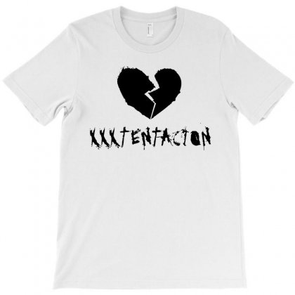 Xxxtentacion Black Logo T-shirt Designed By Meza Design