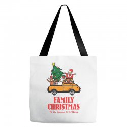 family christmas tis the season to be merry Tote Bags | Artistshot