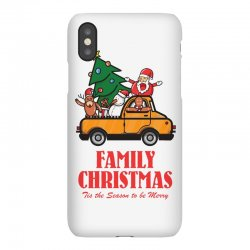 family christmas tis the season to be merry iPhoneX Case | Artistshot