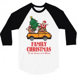 family christmas tis the season to be merry 3/4 Sleeve Shirt | Artistshot