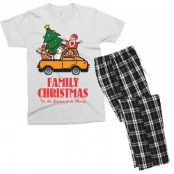 family christmas tis the season to be merry Men's T-shirt Pajama Set | Artistshot