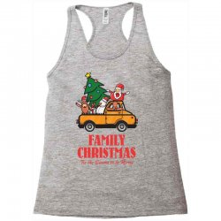 family christmas tis the season to be merry Racerback Tank | Artistshot
