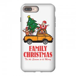 family christmas tis the season to be merry iPhone 8 Plus Case | Artistshot
