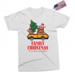 family christmas tis the season to be merry Exclusive T-shirt | Artistshot