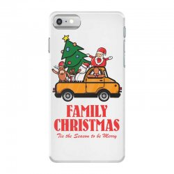 family christmas tis the season to be merry iPhone 7 Case | Artistshot