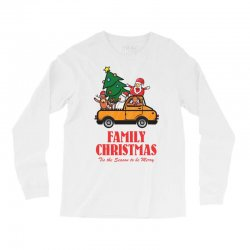 family christmas tis the season to be merry Long Sleeve Shirts | Artistshot