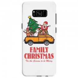 family christmas tis the season to be merry Samsung Galaxy S8 Case | Artistshot