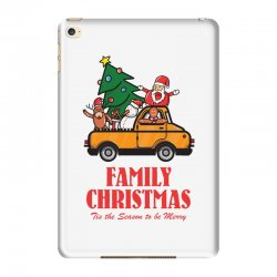 family christmas tis the season to be merry iPad Mini 4 Case | Artistshot