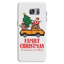 family christmas tis the season to be merry Samsung Galaxy S7 Case | Artistshot