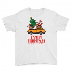 family christmas tis the season to be merry Youth Tee | Artistshot