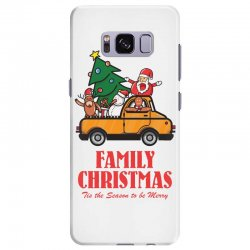 family christmas tis the season to be merry Samsung Galaxy S8 Plus Case | Artistshot