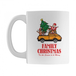 family christmas tis the season to be merry Mug | Artistshot