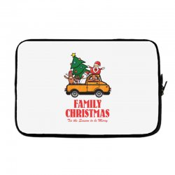 family christmas tis the season to be merry Laptop sleeve | Artistshot