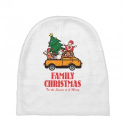 family christmas tis the season to be merry Baby Beanies | Artistshot