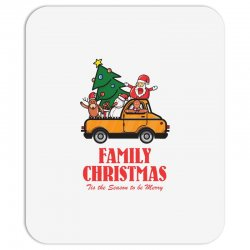 family christmas tis the season to be merry Mousepad | Artistshot