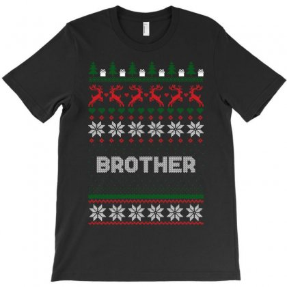 Ugly Christmas Brother T-shirt Designed By Sengul