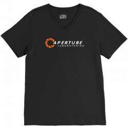 aperture laboratories V-Neck Tee | Artistshot