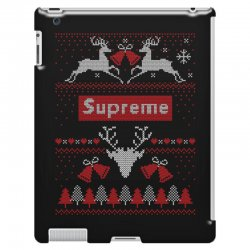 supreme ugly christmas sweater iPad 3 and 4 Case | Artistshot