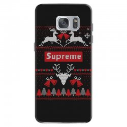 supreme ugly christmas sweater Samsung Galaxy S7 | Artistshot