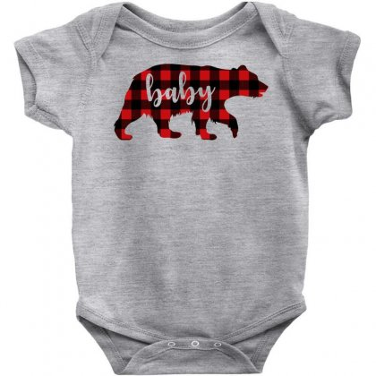 Baby Christmas Bear Baby Bodysuit