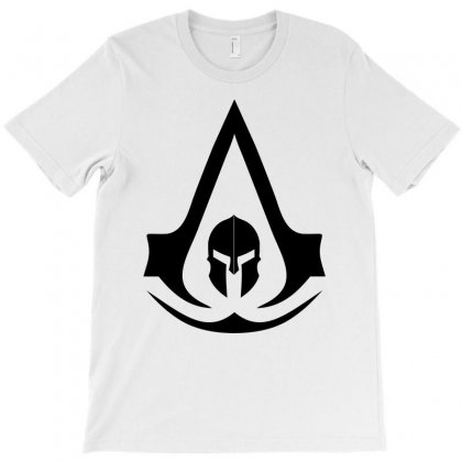Assassins Creed Odyssey Black Logo T-shirt Designed By Yellow Star