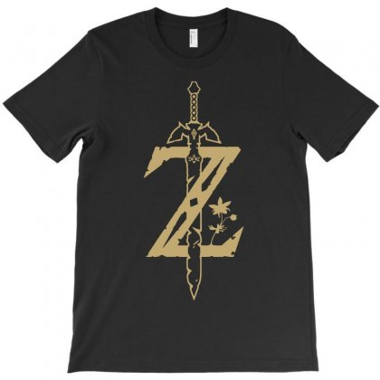 The Legend Of Zelda - Breath Of The Wild T-shirt Designed By Republic Of Design
