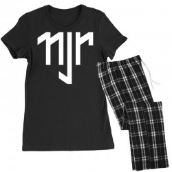 neymar jr sports white logos Women's Pajamas Set | Artistshot