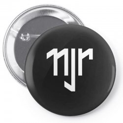 neymar jr sports white logos Pin-back button | Artistshot
