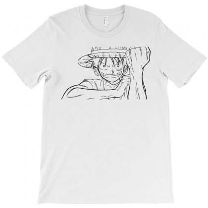 Luffy T-shirt Designed By Meza Design