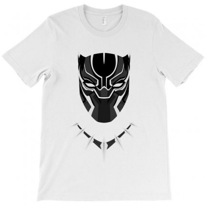 Black Panther Minimalist T-shirt Designed By Meza Design