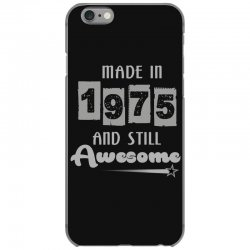 made in 1975 and still awesome iPhone 6/6s Case | Artistshot