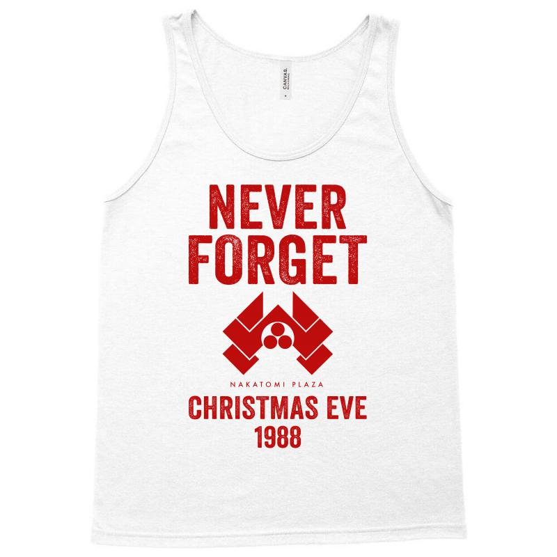never forget nakatomi plaza christmas eve 1988 tank top artistshot
