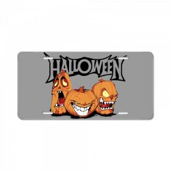 halloween License Plate | Artistshot