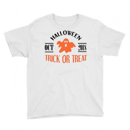 Halloween 2018 Youth Tee Designed By Sbm052017