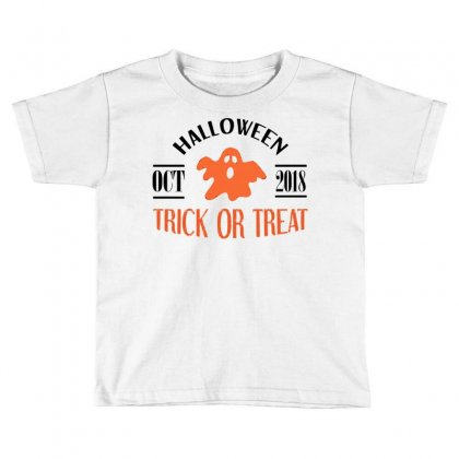 Halloween 2018 Toddler T-shirt Designed By Sbm052017