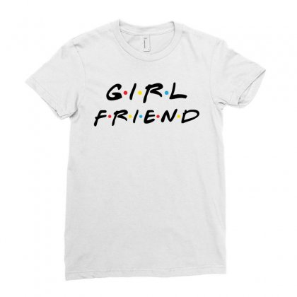 Girlfriend Friends Tv Show Parody Ladies Fitted T-shirt Designed By Akin