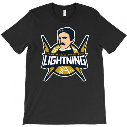 Colorado Springs Lightning T-shirt Designed By Meza Design
