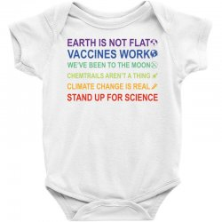 earth is not flat Baby Bodysuit | Artistshot