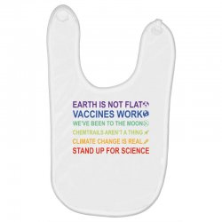 earth is not flat Baby Bibs | Artistshot