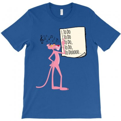 Pink Panther List T-shirt Designed By Sengul