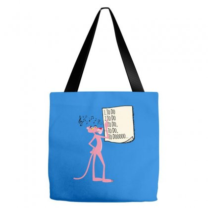Pink Panther List Tote Bags Designed By Sengul