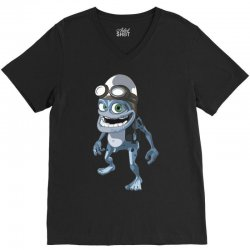 funny crazy frog, ideal gift or birthday present V-Neck Tee | Artistshot