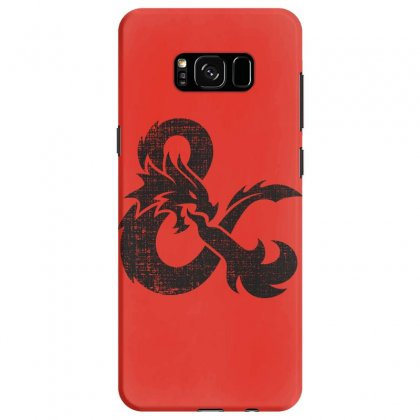 Dungeons Dragons Vintage Logo Samsung Galaxy S8 Case Designed By Sengul