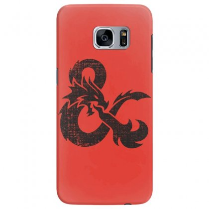 Dungeons Dragons Vintage Logo Samsung Galaxy S7 Edge Case Designed By Sengul