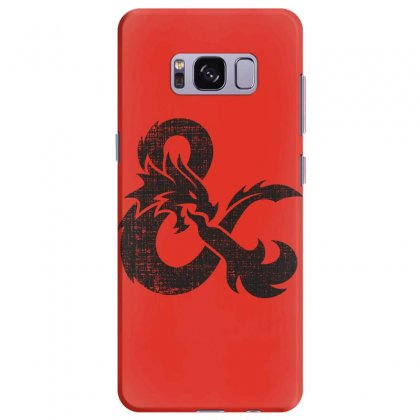 Dungeons Dragons Vintage Logo Samsung Galaxy S8 Plus Case Designed By Sengul