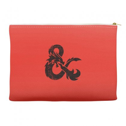 Dungeons Dragons Vintage Logo Accessory Pouches Designed By Sengul