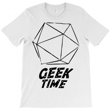 Geek Time T-shirt Designed By Sbm052017